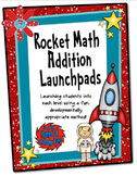 Rocket Math Addition Launchpads!