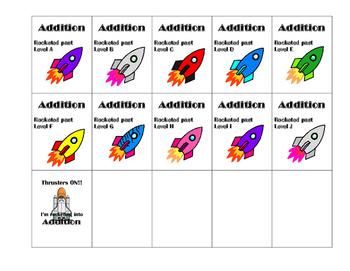 Rocket Math Brag Swag Tags Sampler