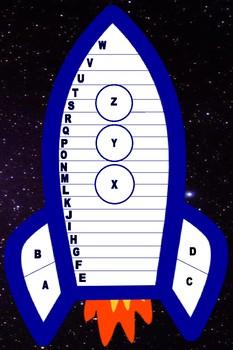Rocket Math Class Progress Poster