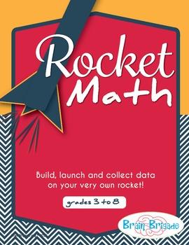 Rocket Math | Geometry, Protractor, Averaging, Measurement STEM