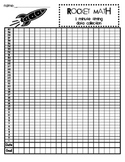 Rocket Math One Minute Timing Data Collection Sheet