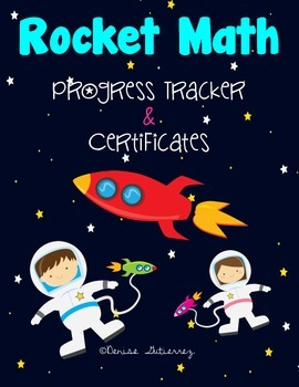 Rocket Math-Progress Tracker & Certificates
