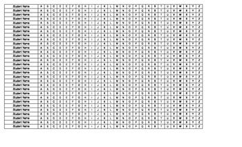 Rocket Math Tracking Sheet