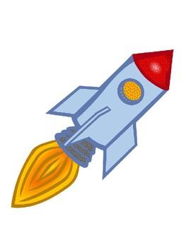Rocket Picture Templates