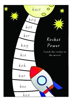 Rocket Power Game /k/ sound