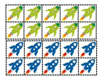 Rocket Races: Ten Frame Game