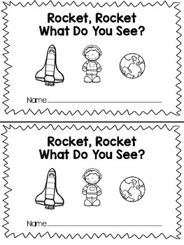 Rocket Rocket What Do You See - Teacher and Class Book