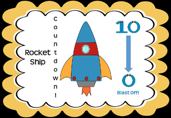 Rocket Ship Countdown