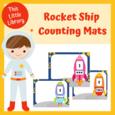 Rocket Ship Counting Mats - Numbers 1-10