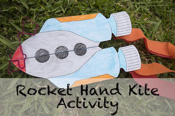 Rocket Ship Hand Kite