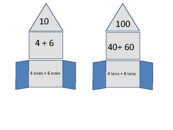 Rocket Ship Place Value