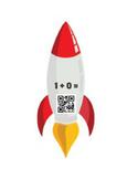 Rocket Ship QR Codes