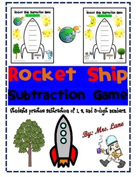 Rocket Ship Subtraction Game
