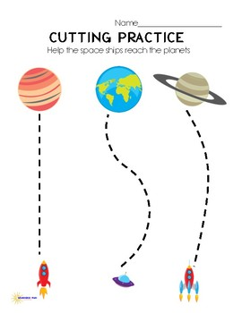 Rocket Space cutting practice