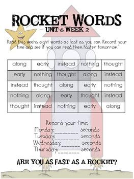 Rocket Words Unit 6