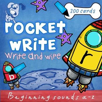 Rocket Write Letter Formation Write & Wipe