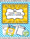 Rocket Writing Take Home Folders (Rocket Writing Collection)