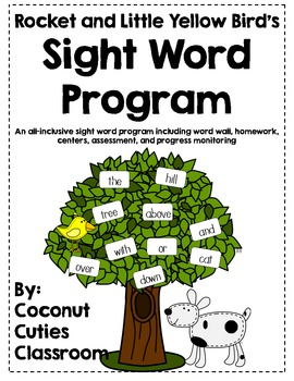 Rocket and Little Yellow Bird's Sight Words {Complete Program BUNDLE}