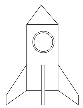 Rocket and Space Shuttle