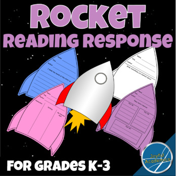 Rocket and Star Book Report Activity and Display