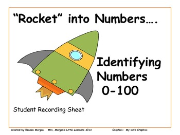 """Rocket"" into Numbers...Identifying Numbers 0-100"