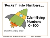 """""""Rocket"""" into Numbers...Identifying Numbers 0-100"""