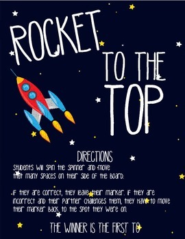 Rocket to the Top - Silent Letters (gn, gh, wr, mb, kn)