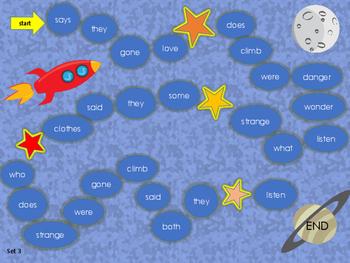 Rocket words (sight words) set 3