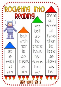Rocketing into Reading - Sight Words