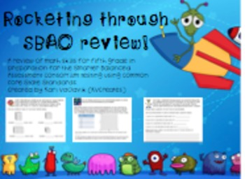 Rocketing through SBAC & Common Core Review!