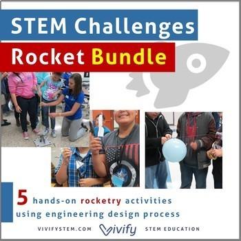 Rocketry STEM Challenges Bundle: Forces & Variables