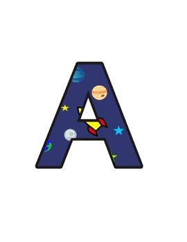 Rockets Lettering (upper/lowercase, cursive, numbers, shap