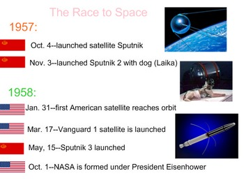 Rockets, Satellies, and the Space Race
