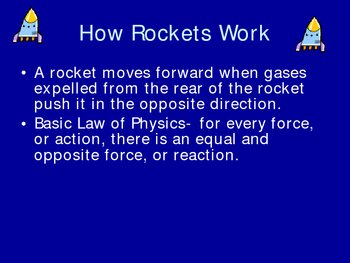 Rockets and Satellites Power Point