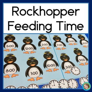 Telling Time with Rockhopper Penguins: Telling time to the half hour