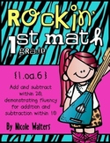 Rockin' 1st Grade Math Facts {Common Core Aligned – Standard 1.oa.6}ts
