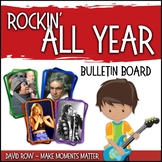 Rockin' All Year: A Musical Bulletin Board for Every Month!