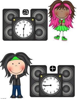 Rockin' Around the CLOCK:  Teaching How to Tell Time