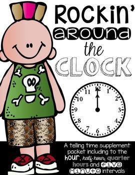 Rockin' Around the CLOCK:  Teaching How to Tell Time