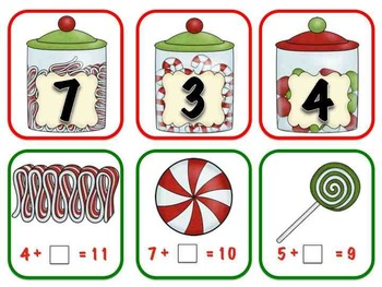 Rockin' Around the Christmas Tree- 6 Math Stations