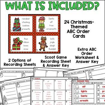 Rockin' Around the Christmas Tree {ABC Order}