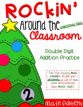 Rockin' Around the Classroom Christmas Math Centers (doubl