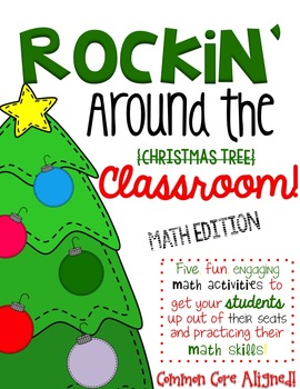Rockin' Around the Classroom-Christmas Addition & Subtraction Centers
