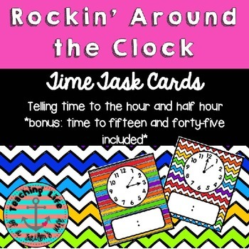 Rockin' Around the Clock - Telling Time to the Hour and Half Hour