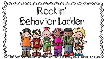 Rockin' Behavior Chart (colored backgroud)