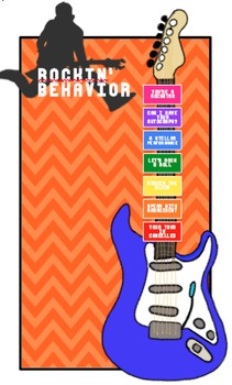 Rockin' Behavior Chart/Clip System for any Classroom