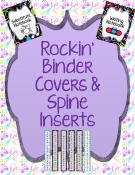 Rockin' Binder Covers