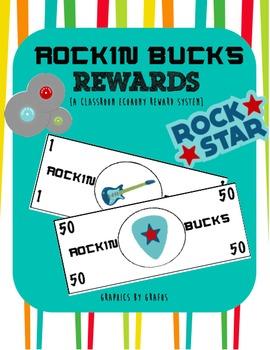 Rockin' Bucks Reward System {a classroom economy}