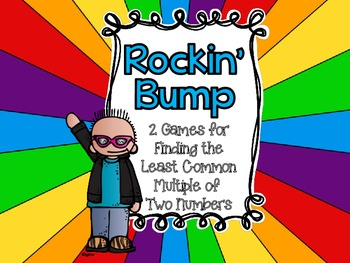 Rockin' Bump-Three Games for Finding the Least Common Multiple of Two Numbers