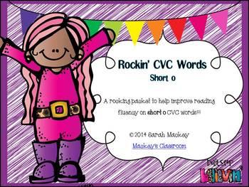 Rockin' CVC Words {Short o}